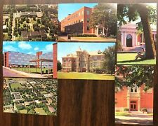 # T1952    OREGON STATE UNV.,  CORVALLIS,  OR.   POSTCARD LOT,  7   DIF. CARDS