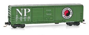 N MicroTrains 03000210 Northern Pacific Rd# 390099 50' DD Rib Side Boxcar NIB *P