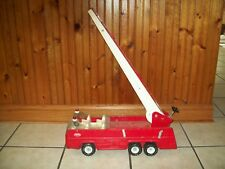 Vintage Tonka Fire Truck ~ Ladder Truck Pressed Steel 32202 Good Used Condition