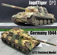 WWII Jagdtiger Porsche hunting tiger tank #010 Germany 1944 1/72 tank Easy model