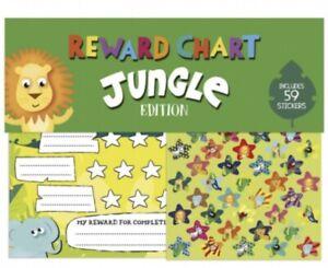 Reward Chart Jungle Themed Kids Toddler Potty Training Stickers FAST POSTAGE