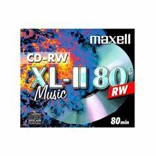 10 CD-RW Audio Maxell