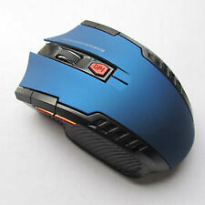 2.4Ghz Mini Wireless Optical Gaming Mouse Mice& USB Receiver For PC Laptop Blue
