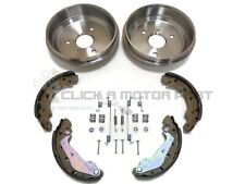 SMART CAR FOR TWO ROADSTER CITY COUPE REAR 2 BRAKE DRUMS SHOES & FITTING KIT