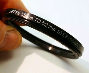 Tiffen 55mm to 52mm Step down Retaining Ring for filter