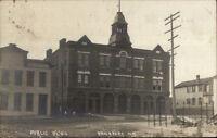 Brockport NY Public Bldg c1910 Real Photo Postcard