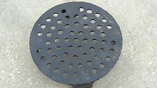 """New Perforated Grate/Strainer Cast Iron Fits 6"""" Clay Pipe"""