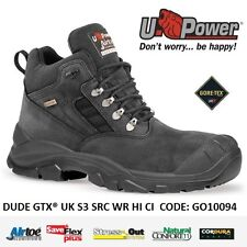 UPOWER SCARPE ANTINFORTUNISTICA DUDE GTX® UK S3 SRC WR HI CI U-POWER GO10094