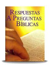 Respuestas A Preguntas Biblicas (Set of 100 per box)