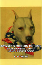 DOGS PIT BULL TERRIERS TRAINING AMERICAN BOWSER FIGHTING GAME STAFFORDSHIRE DOG