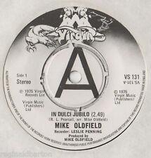 """Mike Oldfield - In Dulci Jubilo 7"""" Single 1975"""