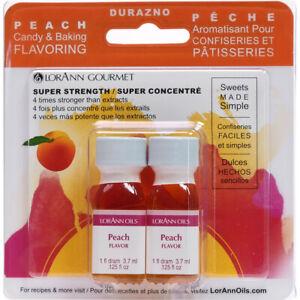 Candy & Baking Flavoring .125oz 2/Pkg-Peach -FLAVOR-450