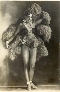 JOSEPHINE BAKER (1930) Vintage original 9x6 French photo