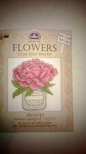 DMC FLOWERS MINI KIT RANGE PEONIES BK9993J IDEAL STARTER KIT FOR BEGINNERS