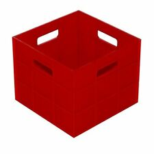 Award HOBBY COMPACT STORAGE BOX 5Pcs 3L Ideal For Small Spaces, RED *Aust Brand