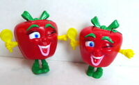 Apple Transformer Essential Food Group Fruit 1993 Happy Meal Toy  Lot of 2