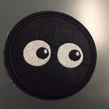 """EYES CARTOON COMICS BD EMOTIONS Patch - Embroidered Iron On Patch 3 """""""