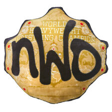 Official WWE Authentic nWo WCW Championship Title Belt Throw Pillow  Small