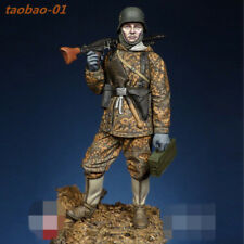 75mm 1:24 resin soldiers figures model kit WWII The German SS high quality 1692