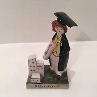 Vintage Italian Graduate Figurine by LINO ZAMPIVA