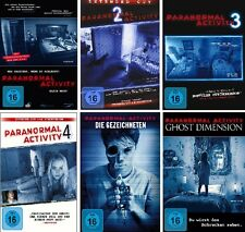 6 DVDs * PARANORMAL ACTIVITY - FAN SET # NEU OVP §+