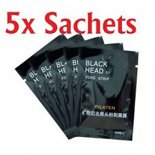 ~ 5X PILATEN STRIPS PORE BLACK HEAD ACNE REMOVER NOSE CLEANSER SUCTION FACE MASK
