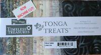 "Timeless Treasures Tonga Batik Treats Precut 5"" X  5"" Fabric Squares Canyon"