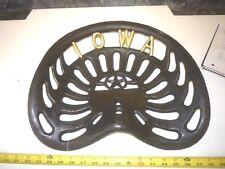 New listing Cast Iron Old Farm Machine Type Bar Stool Garden Seat Iowa