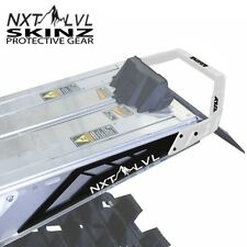 Skinz NXT LVL Fly Rear Bumper White & Flat Black - Polaris 2010-2016 Pro RMK