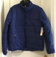 Surplus Men's Big Tall Puffer Winter Coat Ski Jacket Blue *U Pick Size XLT, 3XL