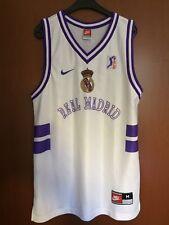 Maglia Shirt Trikot Camiseta Jersey Canotta Real Madrid Nike Basket Spain