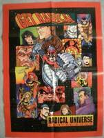 """GET RADICAL Promo poster, 20"""" x 27"""", 1994, Unused, more in our store"""