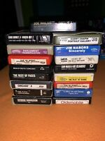 Lot of 17 Floyd, Chicago, Beach Boys, Walsh, Harrison - 8 Track Tapes Untested.