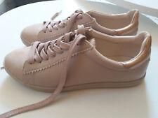 Chaussures femme Baskets 37 PROMOD Rose avec talons et lacets brillants