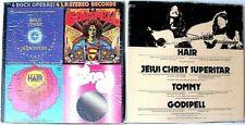 """4 ROCK OPERAS"">QUADRUPLE 12"" VINYL RECORD BOX SET>VG+++>1973"