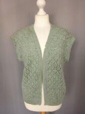 Gilet femme en laine gris vintage Parfait état Taille  FR44 US12 UK16 EUR42