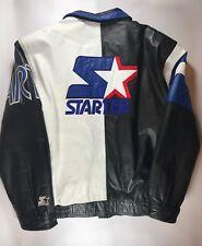 Vintage Starter Leather Jacket Size XL