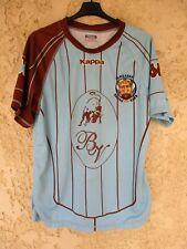 Maillot rugby GAMBADOU Racing Club TOULOUSE KAPPA shirt porté n°17 3XL XXXL