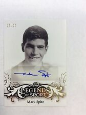 MARK SPITZ 2015 Leaf Legends of Sports AUTO Autograph Card 05/10