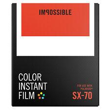 Impossible SX70 Instant Film-PX70 Instantanée Film-nouvelle version