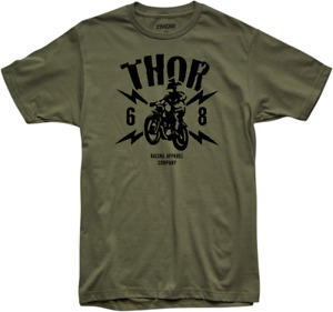 Thor S20 Lightning T-Shirt - Sm Green