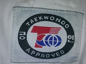 Taekwondo Uniform Sz 3 Top and Belt Chungs