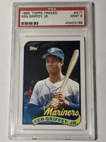 1989 Topps Ken Griffey Jr #41 Baseball Card PSA 9 Mint Rookie