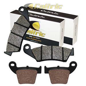 Fydun Motorcycle Front Rear Brake Pads Iron Brake Pads 4pcs for Honda CRF250R CRF250X 2002-2018 Brake Pads