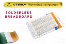 NEW Universal Solderless Solder-less Breadboard 400 Tie-points Retail Packaging