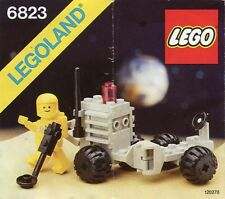 LEGO SURFACE TRANSPORT 6823 Set Classic 1x yellow minifig moon astronaut rover