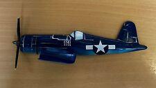 Corsair Plane Profile Resin Wall Decoration - Blue - Key Rack - Pack of 4