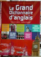 Le Grand Dictionnaire Anglais et français neuf éclairs de plume sous emballage