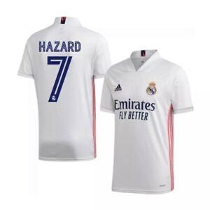 Real Madrid soccer jersey camiseta 20/21 Hazard 7
