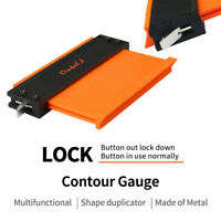 Irregular Shape Contour Gauge Duplicators w/ lock Meaturing Profile Tool 3 Sizes
